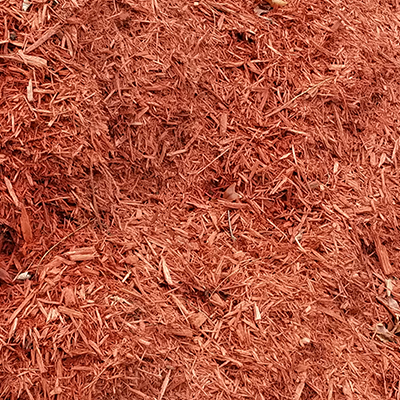 Color Enhanced Mulch - Red
